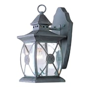 Livex Lighting 1-Light Charcoal Outdoor Lantern (2091-61)