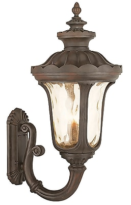 Livex Lighting 4-Light Imperial Bronze Outdoor Wall Lantern (76701-58)