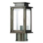 Livex Lighting 1-Light Outdoor Vintage Pewter Post Light (20201-29)