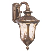 Livex Lighting 3-Light Moroccan Gold Outdoor Lantern (7657-50)