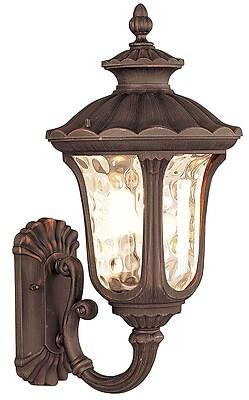 Livex Lighting 1-Light Outdoor Imperial Bronze Lantern (7656-58)