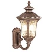 Livex Lighting 1-Light Moroccan Gold Outdoor Lantern (7656-50)