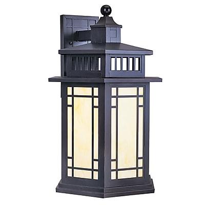 Livex Lighting 1-Light Bronze Outdoor Lantern (2396-07)