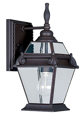 Livex Lighting 1-Light Bronze Outdoor Lantern (2627-07)