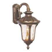 Livex Lighting 1-Light Moroccan Gold Outdoor Lantern (7653-50)