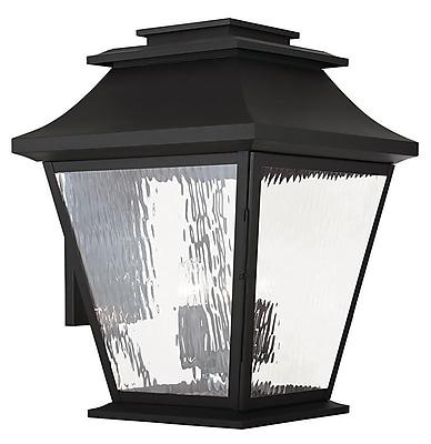 Livex Lighting 5-Light Black Outdoor Wall Mount Lantern (20245-04)