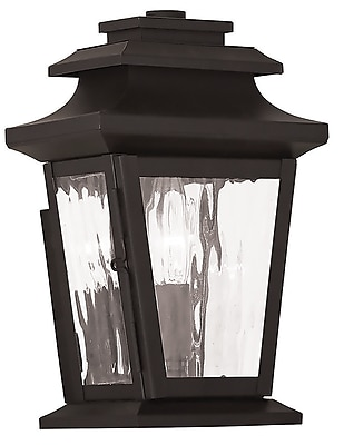 Livex Lighting 1-Light Bronze Outdoor Wall Mount Lantern (20255-07)