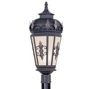 Livex Lighting 1-Light Bronze Outdoor Post Lantern (2198-07)