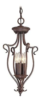 Livex Lighting 4-Light Imperial Bronze Pendant (6127-58)