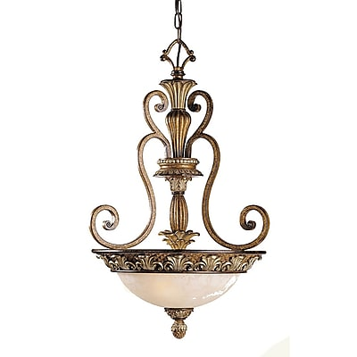 Livex Lighting 3-Light Venetian Patina Pendant (8454-57)