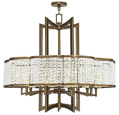 Livex Lighting 10-Light Palacial Bronze Chandelier (50579-64)