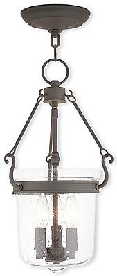 Livex Lighting 3-Light Bronze Pendant (50492-07)