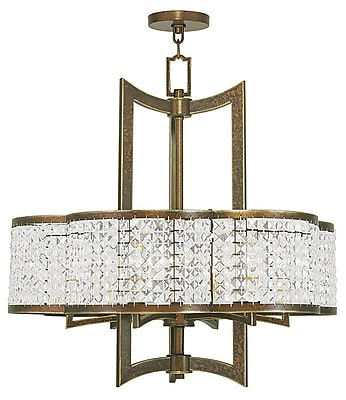 Livex Lighting 6-Light Palacial Bronze Chandelier (50576-64)