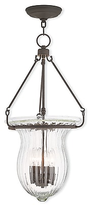 Livex Lighting 4-Light Bronze Pendant (50946-07)