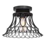 Filament Design 1-Light Oil Rubbed Bronze Flush Mount (STL-SVS474868)