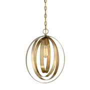 Filament Design 1-Light Natural Brass Pendant (STL-SVS474936)