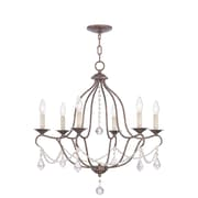 Livex Lighting 6-Light Venetian Golden Bronze Chandelier (6426-71)