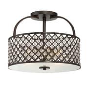 Filament Design 3-Light Oil Rubbed Bronze Semi-Flush Mount (STL-SVS474837)