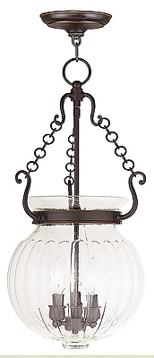 Livex Lighting 3-Light Olde Bronze Pendant (50505-67)