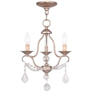 Livex Lighting 3-Light Chesterfield Mini Chandelier (6423-73)