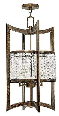 Livex Lighting 4-Light Palacial Bronze Pendant (50567-64)