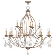 Livex Lighting 15-Light Chesterfield Chandelier (6429-73)