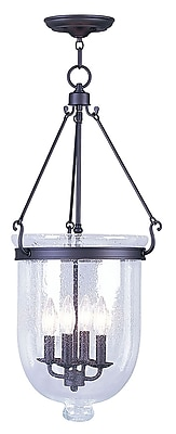 Livex Lighting 4-Light Bronze Pendant (5085-07)