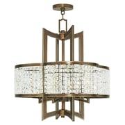Livex Lighting 4-Light Palacial Bronze Chandelier (50575-64)