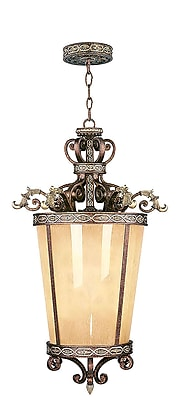Livex Lighting 6-Light Palacial Bronze with Gilded Accents Pendant (8549-64)