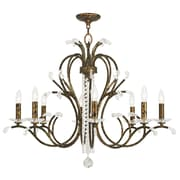 Livex Lighting 8-Light Venetian Golden Bronze Chandelier (51008-71)