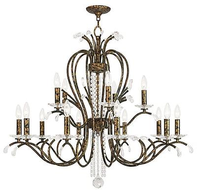 Livex Lighting 15-Light Venetian Golden Bronze Chandelier (51009-71)