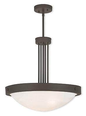 Livex Lighting 4-Light Bronze Pendant (73964-07)