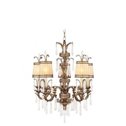 Livex Lighting 5-Light Vintage Gold Leaf Chandelier (8805-65)