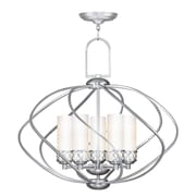 Livex Lighting 5-Light Brushed Nickel Chandelier (4725-91)