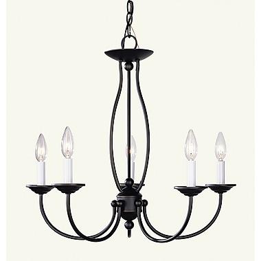 Livex Lighting 5-Light Bronze Chandelier (4155-07)