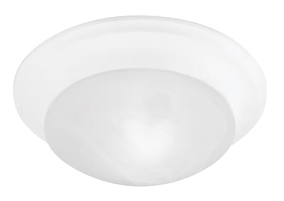 Livex Lighting 3-Light White Semi-Flush Mount (7304-03)