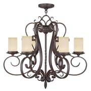 Livex Lighting 6-Light Imperial Bronze Chandelier (5486-58)