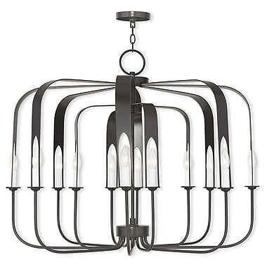 Livex Lighting 12-Light English Bronze Chandelier (51939-92)