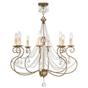 Livex Lighting 8-Light European Bronze Chandelier (51908-36)