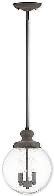 Livex Lighting 2-Light Bronze Pendant (50914-07)