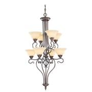 Livex Lighting 8-Light Imperial Bronze Chandelier (6118-58)