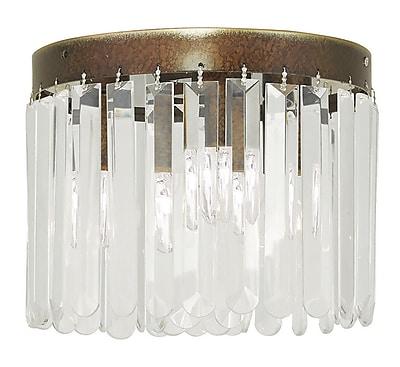 Livex Lighting 3-Light Palacial Bronze Flush Mount (50552-64)