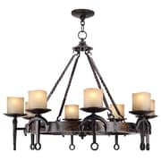 Livex Lighting 8-Light Olde Bronze Chandelier (4868-67)