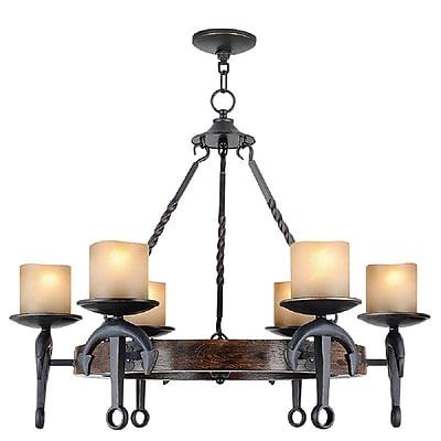 Livex Lighting 6-Light Olde Bronze Chandelier (4866-67)