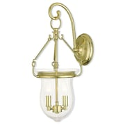 Livex Lighting 2-Light Polished Brass Sconce (50292-02)