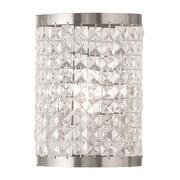 Livex Lighting 1-Light Brushed Nickel Wall Sconce (50571-91)