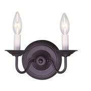 Livex Lighting 2-Light Bronze Wall Sconce (5018-07)