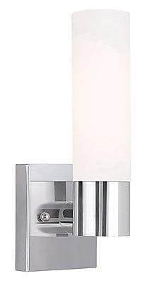 Livex Lighting 1-Light Chrome Sconce (10101-05)
