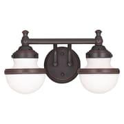 Livex Lighting 2-Light Olde Bronze Bath Vanity Light (5712-67)