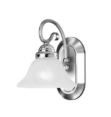 Livex Lighting 1-Light Chrome Bath Vanity Light (6101-05)